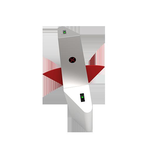 FBL3222指纹识别智能双通道翼闸