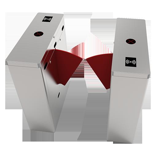 FBL1011射頻卡識別智能單通道翼閘