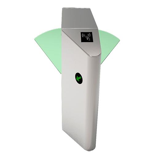 FB4211双机芯智能斜角翼闸