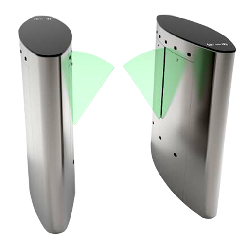 FB3011智能椭圆形翼闸单通道