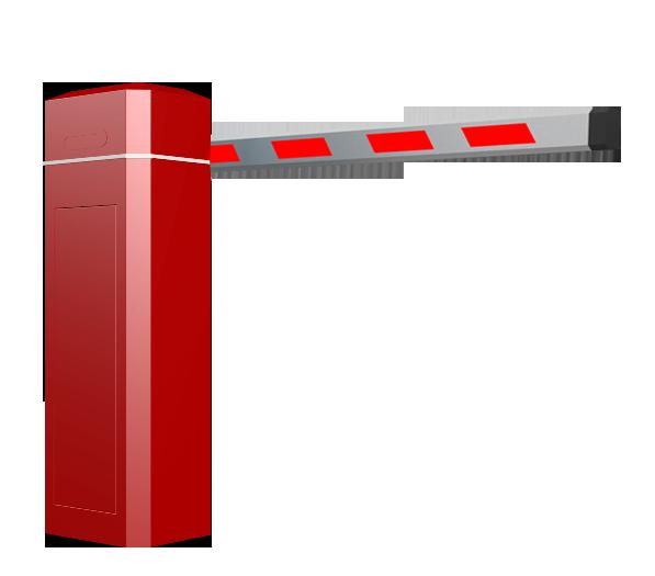 ZK-BAR-A1 自动直杆道闸(全红)
