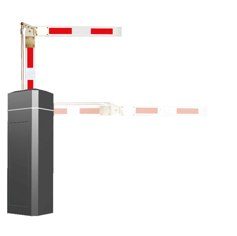 ZK-BAR-A1-90 90度曲杆道闸(全黑)