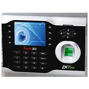 中控智慧考勤机iClock300 TFT彩屏专业型 密码+指纹识别